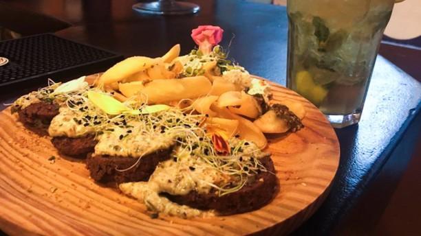 Yantén Veggie Bar Sugerencia de plato