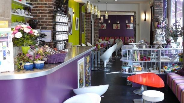 Les Fées Papilles Restaurant vue du bar