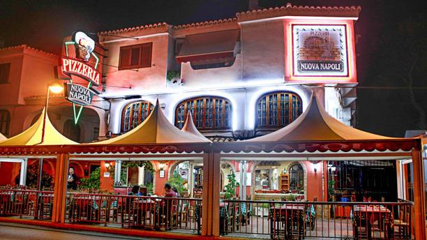 Pizzeria Nuova Napoli Vista de la terraza