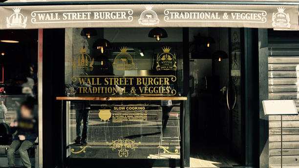 Wall Street Burger L'esterno