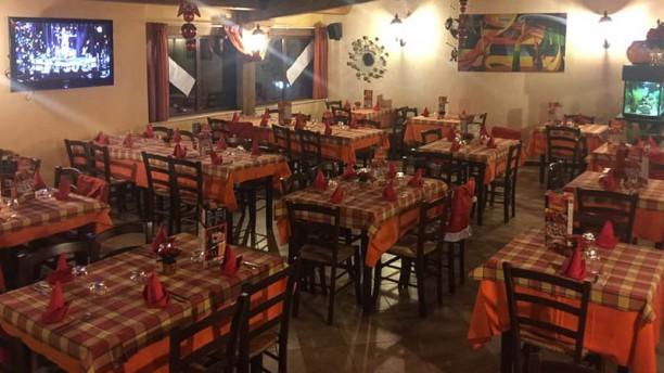 Trattoria Pizzeria Il Borgo Vista sala