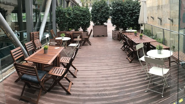 Fooding - Holmes Place Les Corts Terraza