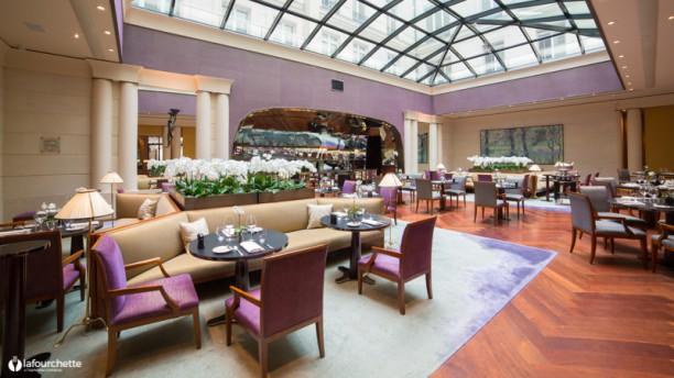 Les Orchidées - Park Hyatt Paris-Vendôme La salle du restaurant