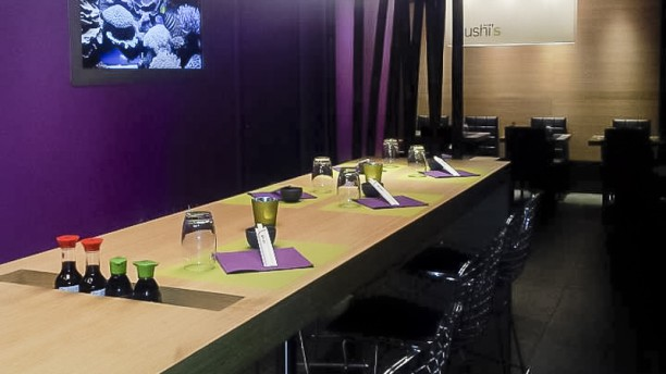 Sushi's Robertsau Table dressée