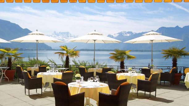 Golf Hotel René Capt Vue depuis la terrasse