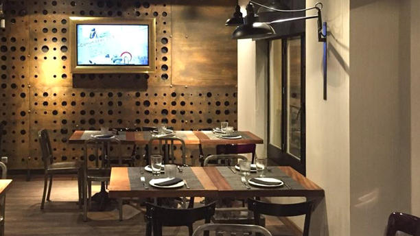 La Platea Centro Sala del restaurante