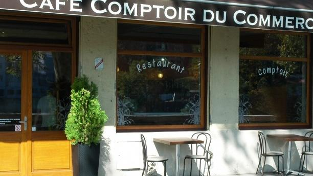 Café Comptoir du Commerce Devanture