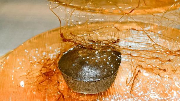 Osteria Bottega di Lornano chocolate flan