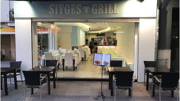 Sitges Grill vista terraza