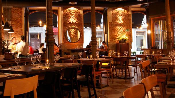 Lamucca de prado in madrid restaurant reviews menu and for Lamucca calle del prado 16 madrid