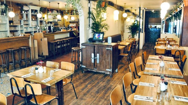 La Mercerie Salle du restaurant