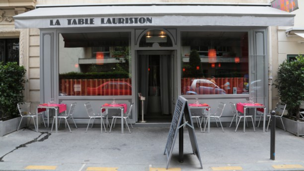 La Table Lauriston Bienvenue au restaurant La Table Lauriston