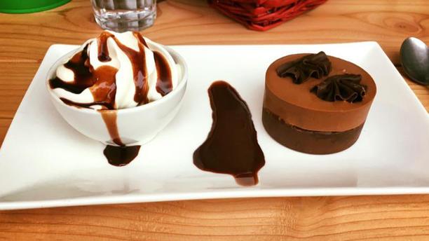 Eetcafé Zusjes Chocoladesouffle