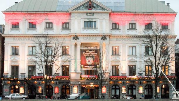 Bistro de Carrékelder (Koninklijk Theater Carré) Het restaurant