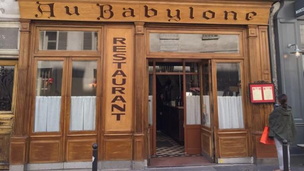 Au Babylone Entrée