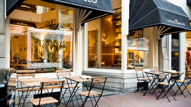Vascobelo V-bar Haarlem Het restaurant