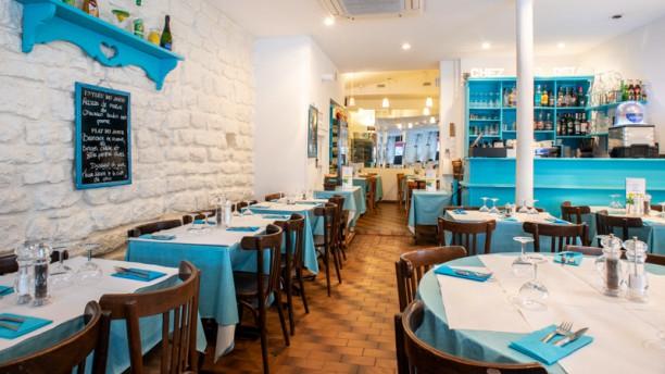 Chez les Osias restaurant paris Salle du restaurant