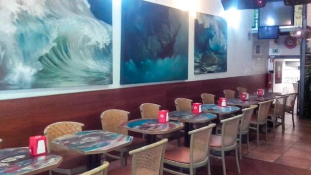 Twins Cafe Restaurant sala