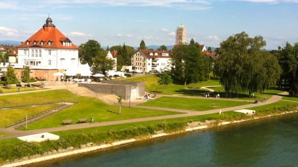 Villa Schmidt vue du Pont de l'Europe