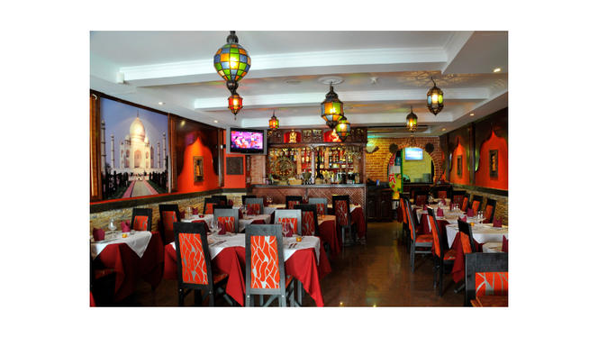 interior - Taj Mahal Restaurante Indiano e Italiano, Cascais