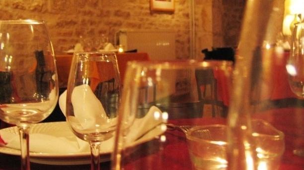 Le Saint-Hubert Table dressée