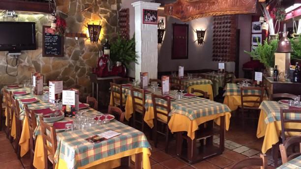 La Taverna dei Briganti Vista sala
