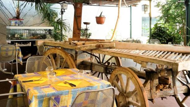 La Tana del Borgo Sala del ristorante