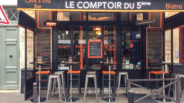 Le comptoir du 5e in paris restaurant reviews menu and - Le comptoir paris restaurant ...