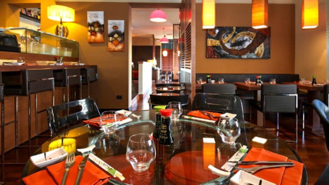 Vista sala - Fooding sushi & mozzarella bar, Peschiera Borromeo