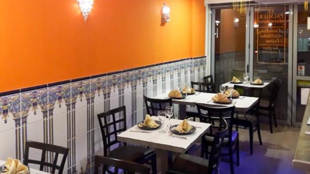Le Palmier Salon du restaurant