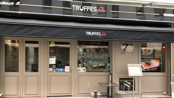 Devanture - Truffes Folies 7ème, Paris