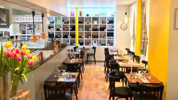 La Dilettante Paris Salle du restaurant