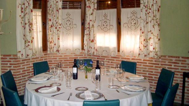 Casa Flores Vista de una mesa