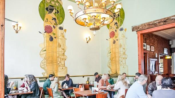Restaurant Burgerzaken restaurantzaal