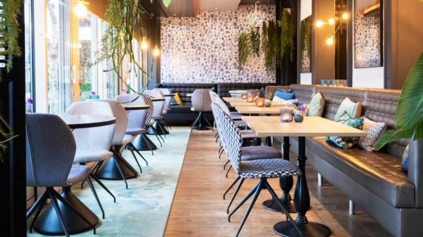 Quatre Bras Het restaurant