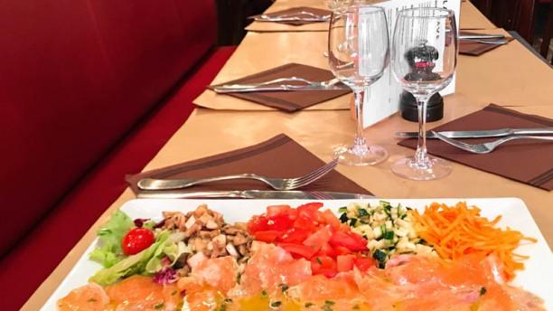 Restaurant Le Mesnil Le saumon