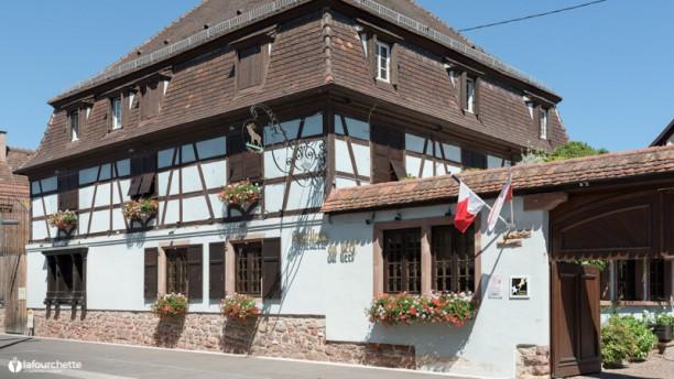 Hôtel Restaurant Le Cerf - Michel HUSSER façade