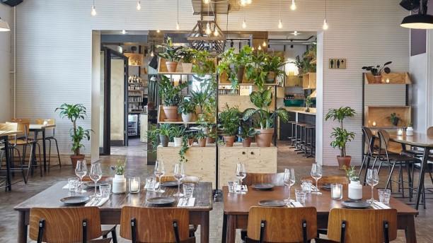 Lokaal Edel Het restaurant