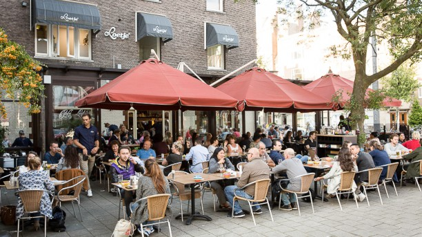 Café Loetje terras