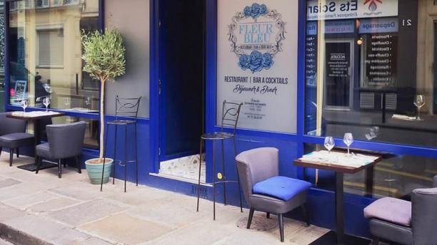 Le Fleur Bleu Terrasse