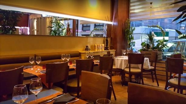 Sourire du Vietnam Salle du restaurant