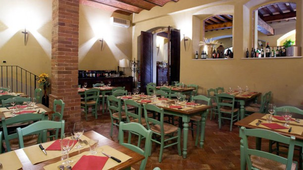 La Taverna del Patriarca Vista sala