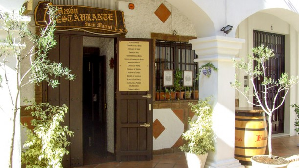 Mesón Restaurante Juan Manuel Entrada