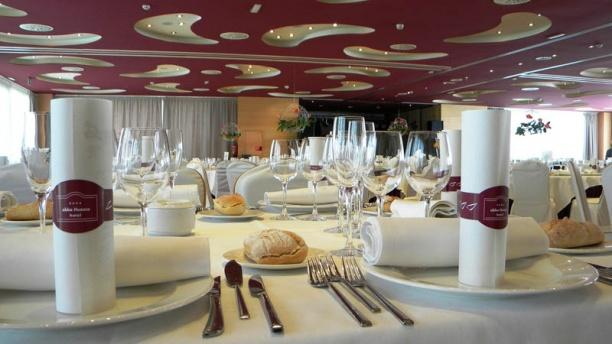 Abba Mía Detalle de un banquete