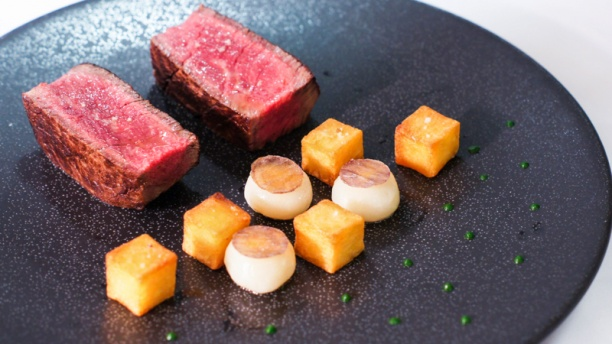 La cuisine hotel royal monceau plat for Restaurant la cuisine royal monceau
