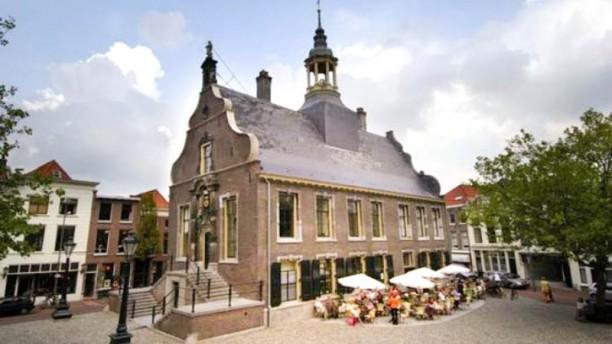 Brasserie Stadhuis ingang