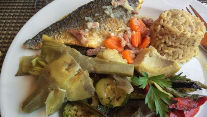 Suggestion de plat - Les Terrasses, Carry-le-Rouet