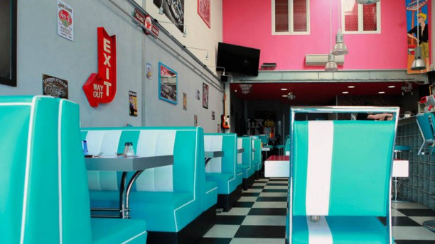 Pepper's Diner Salle intérieure
