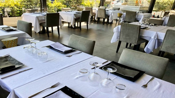 L'Acquario Restaurant Deluxe Vista sala