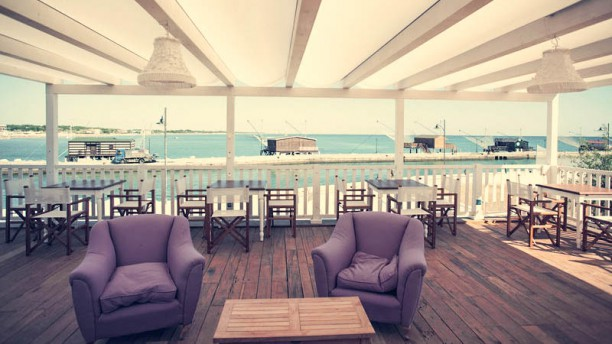 Maré | cucina caffè spiaggia bottega Panoramica
